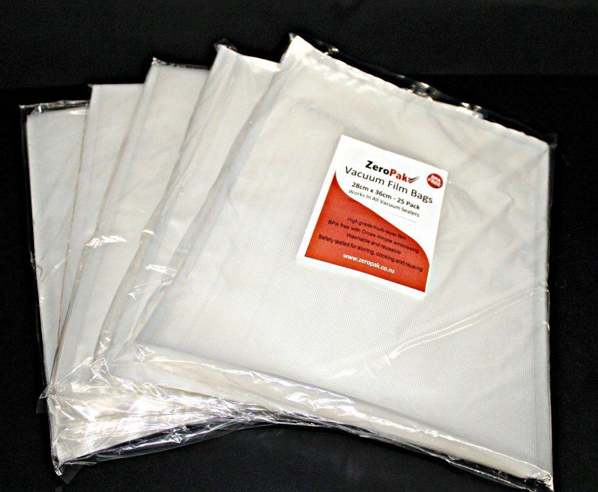 zeropak 28cm bags 5 packs