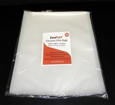 zeropak 28cm x 36cm bags