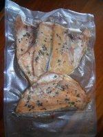 ZeroPak vacuum packed smoked fish