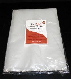 zeropak 25cm x 35cm vacuum sealer bags
