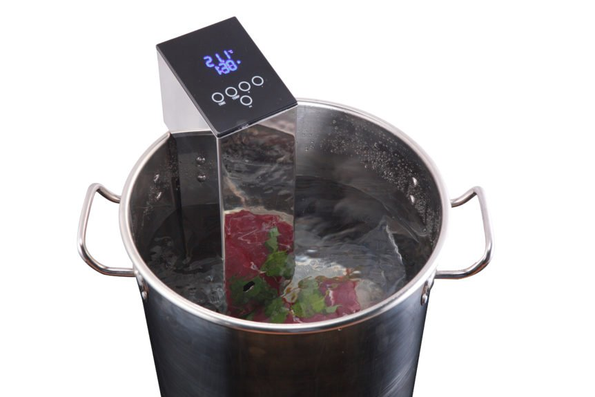 ZeroPak Sous Vide in use
