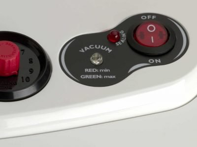 S250 white vacuum indicator