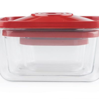 ZeroPak glass vacuum containers inside each other