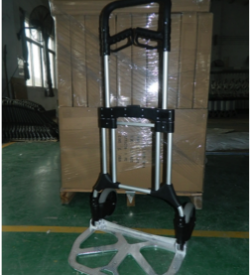 ZeroPak Ultimate Folding Hand Trolley Open