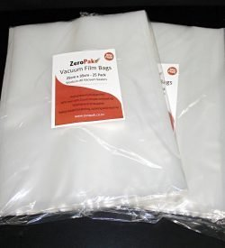 zeropak 25cm x 35cm bags 2 packs
