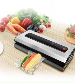ZeroPak DualVac food vacuum sealer 12V-240V with foo