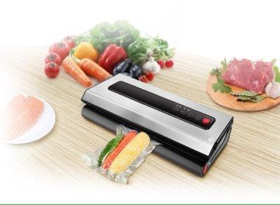 DualVac food vacuum sealer