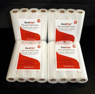 ZeroPak 20cm rolls 4 packs