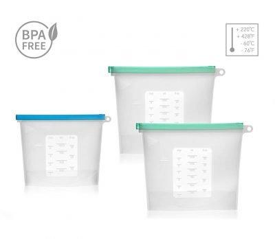 ZeroPak BPA free empty bags